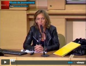 Vidéo de la présentation de l'École de Journalisme de Sciences Po Paris