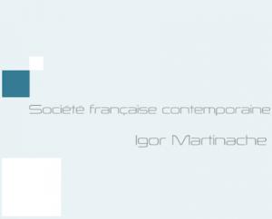 La société française contemporaine - Prépa journalisme